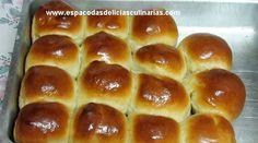 Espaço das delícias culinárias: Pãozinho doce caseiro
