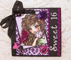 Crafts & Me 'Aliah' Sweet 16 card