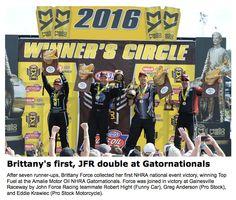 NHRA Gatornationals Drag Racing
