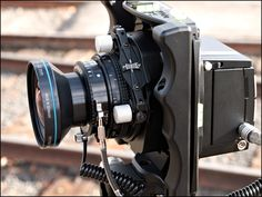 Cambo Wide RS technical camera w/ Rodenstock 40mm TS  lens, with Phase One P-series digital back.