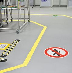 I love how much you can communicate through what we see. It is important you have a floor that can withstand everything important you need to do. You also want to make sure that you keep it safe and others aware, important stuff can be dangerous at times.  http://www.tluckey.com/concrete-floor-repair