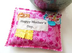 Mother's Day Sachet Lavender sachet Happy Mother's by Itsewbella, $7.00