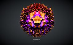 Concept Flowers - Series #1 by Matteo Gallinelli, via Behance