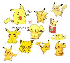 """""""Pikachu"""" by typicalblackgurl ❤ liked on Polyvore"""