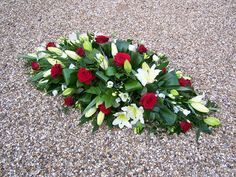 Coffin Sprays from Casket Flowers, Grave Flowers, Funeral Flowers, Wedding Flowers, Funeral Floral Arrangements, Flower Arrangements, Funeral Sprays, Casket Sprays, Funeral Tributes
