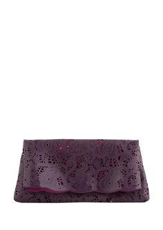 BUCO  Eva Lace Cut Clutch  $49.99