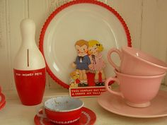 Red, Pink, and White Party by thislittlepiggy, via Flickr