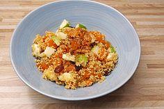 Süßer Couscous - Salat