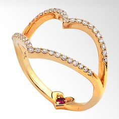 STAR JEWELRY |HEART RING: リング