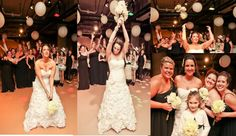 Break away bouquet toss