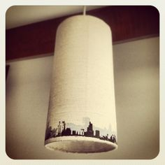 Cityscape Ceiling light shade.