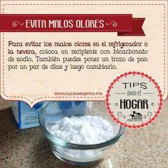 Para evitar los malos olores en el refrigerador o la nevera. #TipsExpress de Tu Casa Express.