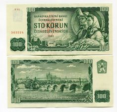 Czechoslovakia Korun banknotes for sale. Dealer of quality collectible world banknotes, fun notes and banknote accessories serving collectors around the world. Over 5000 world banknotes for sale listed with scans and images online.