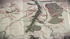 A previously unseen map, drawn by J.R.R. Tolkien's son Christopher, and added to by Tolkien himself, is going on display for one day only.