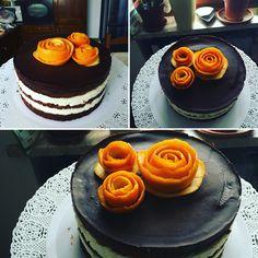 La torta per il nonno: truffle cake al cioccolato belga e arancio con ganache al cioccolato bianco e ganache al cioccolato fondente come colertura  #tortaaalcioccolato #trufflecakealcioccolatobelga #golosità https://it-it.facebook.com/apassidizucchero