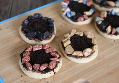 Rock Bordered Campfire Cookies