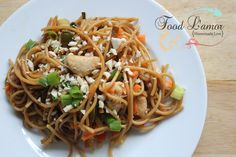 Chicken Pad Thai | Gluten Free and Paleo Recipes | Food L'amor by Melissa