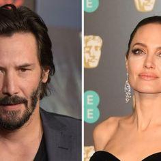 Angelina Jolie și Keanu Reeves formează un cuplu? Halloumi Burger, Keanu Reeves, Angelina Jolie, Hollywood, People, People Illustration, Folk