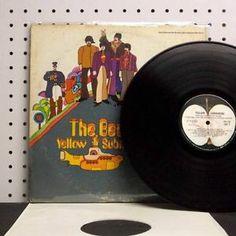 THE BEATLES Yellow Submarine (1969) Vinyl LP