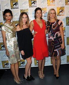 Las mujeres de #FTWD en la Comic-Con - www.deborarte.com.ar
