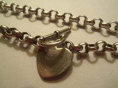 Vintage Sterling 925 Silver Choker with sterling by PastsPresents, $39.99