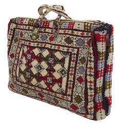 oriental Vintage woollen Rug Handmade handbag Bag from Afghanistan No:17/124