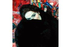 """""""Mulher com um Muff (protetor de mão)', de Gustav Klimt que se pensava estar perdido, é mostrado na Galeria Nacional em Praga.  mais: http://artdaily.com/news/71089/Gustav-Klimt-s--Lady-with-a-Muff---thought-lost--unveiled-at-National-Gallery-in-Prague#.U7Hg0pRdV8E[/url] Copyright © artdaily.org"""