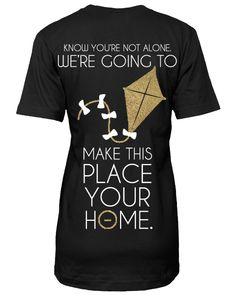 Kappa Alpha Theta Bid Day V-neck by Adam Block Design | Custom Greek Apparel & Sorority Clothes | www.adamblockdesign.com