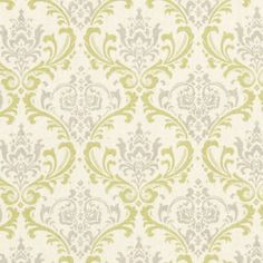 Premier Prints Madison Reed Natural Damask Home Decorating Fabric