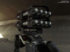 """BLACK PHOENIX"" PROJECT (10 DAYS OF MECH) Mobile Artillery Complex by Vitaly Bulgarov - http://www.bulgarov.com"