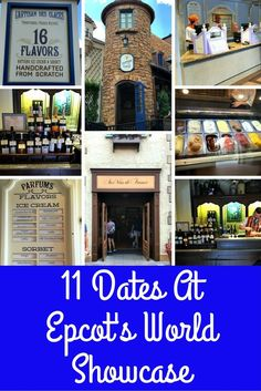 Ever thought about having a date in each country of Epcot's World Showcase? Walt Disney World theme parks offer so many fun things for the whole family or just adults!
