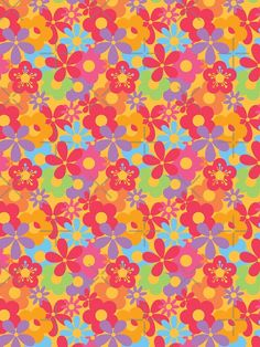 Hippie Wallpaper, Retro Wallpaper, Print Wallpaper, Colorful Wallpaper, Flower Wallpaper, Macbook Air Wallpaper, Iphone Background Wallpaper, Aesthetic Iphone Wallpaper, Cute Patterns Wallpaper
