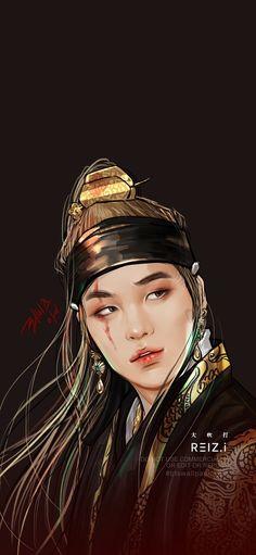 Daechwita - Aguts D Fan art Bts Chibi, Min Yoongi Bts, Bts Jungkook, Min Suga, Taehyung, Foto Bts, Fanart Bts, V Bts Wallpaper, Kpop Drawings