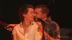 man, how I miss seeing and reading new updates about these two boys. I'm still so sad that the tour has ended. Here's a beautiful photo from Coachella this Summer Call Me Al, Matt Helders, Coachella 2016, Cool Fire, The Last Shadow Puppets, Alex Turner, Feeling Sick, Arctic Monkeys, Actors