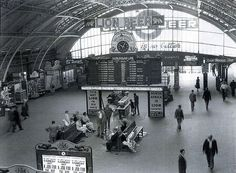 an old picture of a train station where Golden Acre now sits in cape town Old Pictures, Old Photos, South African Railways, Chile, Cape Town South Africa, Rare Images, Thing 1, Most Beautiful Cities, Travel Planner