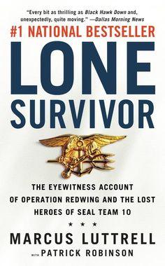 Lone Survivor, Marcus Luttrell $10  ISBN: 9780316044691