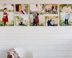 A great outdoor idea for a canvas collection!
