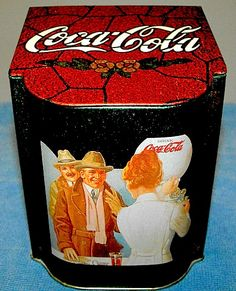 55b0a8375c80 Coca-Cola Flip Top Tin My husband has one of these
