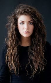 FlyGirl: Curly Hair Inspiration: Lorde