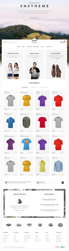 Nitan is great PSD template for eCommerce Website. It has well organized 20+ PSDs files. #eCommerce #psdtemplate