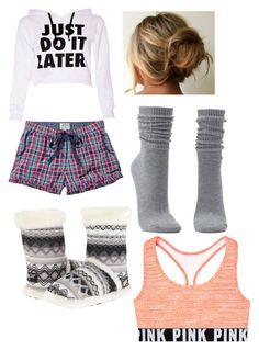 """""""Comfy and Casual"""" by runnerwithminho ❤ liked on Polyvore featuring Fat Face, M&F Western and Charlotte Russe"""