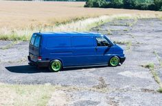 VW T4 slammed static