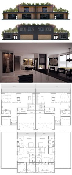 Duplex House Plan More