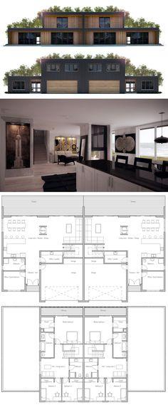 Duplex House Plan More