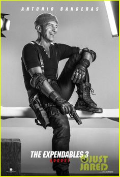 Antonio Banderas: 'Expendables 3' Character Posters | kellan lutz jason statham military hotties for expenda...