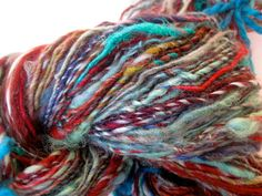 handspun yarn Anna Karenina by coolclimates on Etsy, $40.00