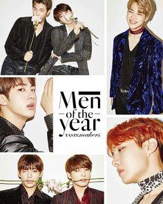 •161116 #BTS for GQ Korea Magazine December 2016 Issue #MENOFTHEYEAR
