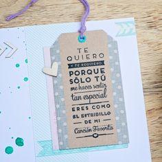 """Sello """"Sólo tú me haces sentir tan especial"""". A la venta en: www.mrwonderfulshop.es"""