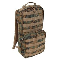 Marpat Green Stealth Hydration Pack | Marines | Military | Military Bags | Military Luggage