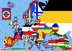National Geographic Maps, European Map, Science Room, Geography Map, French Empire, Alternate History, Oceans Of The World, Picts, Flag Design
